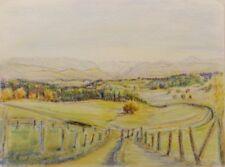 Landschaften & Städte künstlerische Malerei-Pastell-Technik auf Papier
