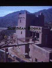 Vintage 35mm Slide Colorado New Mexico Pueblo Bridge Vigas Mountains 1971!!!