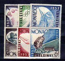 MONACO Yvert n° 386/391 neuf avec charnière MH