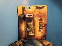 Rare Batman Gotham Guardian Lantern Flashlight Glow Compass Whistle Red Alert+
