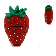 Erdbeere Strawberry - USB Stick 8 GB Speicher / USB Speicherstick Flash Drive