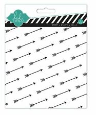American Crafts Clear Background Stamp ~ HEIDI SWAPP ~ ARROWS  ~   ~ 01141