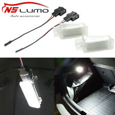 2xLED Trunk Glove Box Under Door Foot Light For Audi Skoda Fabia Octavia VW Golf