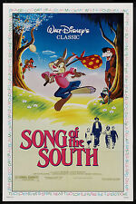 SONG OF THE SOUTH original DISNEY 27x41 one sheet movie poster