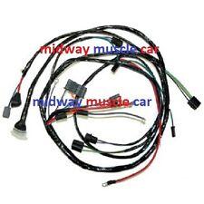 front end headlight headlamp wiring harness 67 Chevy II Nova