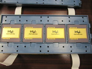 NEW Intel Pentium Pro 200MHz SL22T KB80521EX200 Socket 8 CPU PPRO Gold