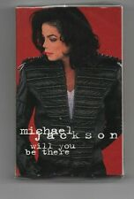 MICHAEL JACKSON NO PROMO CASSETTE WILL YOU BE THERE STILL SEALED USA EDITION