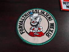 Embroidered Uniform Patch Foreign Clown LOOK