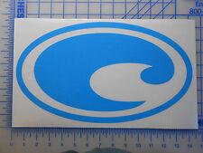 """Costa Del Mar Sunglasses Logo 4.5"""" 6"""" 11.5"""" Decal Sticker Brine Harpoon Fathom"""