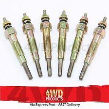 Glow Plug SET - for Nissan Patrol GU (Y61) 2.8TDi RD28 (97-00)