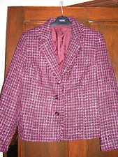 Purple & Black Mix Jacket From Bhs Size 14 BNWOT