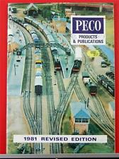 Peco Products & Publications - 1981 Revised Edition - Model Railway