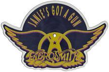EX! Aerosmith: Janie's Got A Gun Shaped VINYL Pic Picture  Disc (GEF68P)
