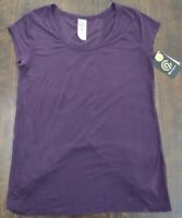 Women's Champion burgundy T-Shirt size XL duo Dry stretch $17 price tag NWT