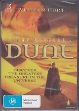 DUNE - TV MINI SERIES -  William Hurt, Alec Newman, Giancarlo Giannini - 3 DVD'S