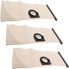 3 Pack Superior Washable Reusable Cloth Dust Bag For Vax Vacuum Cleaner Hoovers