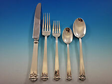 Trianon by Tuttle Sterling Silver Flatware Set 12 Service 60 pieces Dinner Size
