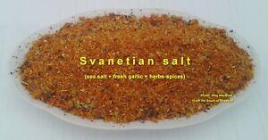 Svanetian salt from Russia - refined Georgian seasoning, free shipping worldwide