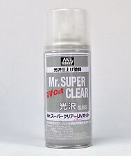 MR HOBBY SPRAY 170ml UV CUT MR SUPER CLEAR GLOSS B522