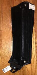 "New! Black Tredstep Ireland Extreme  Half Chaps 14""Calf, 18"" Height."