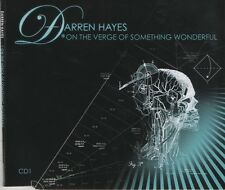 DARREN HAYES On the verge of something wonderful 2 TRACK CD  NEW - NOT SEALED