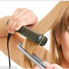 21cm Ladies Hair Straightener Heat Brush Comb Iron Straightening Tool