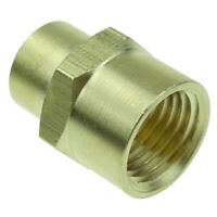 """1//4/"""" Female BSPP Brass Pipe Fitting Reducing Bushing 3//8/"""" Male BSP"""