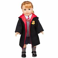 """Hogwarts Hermione Granger Inspired Clothes for American Girl and 18"""" Dolls 7 Pcs"""