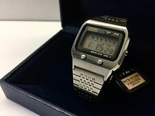 SEIKO 0674-5000 1973 LC Quartz LCD Digital watch - James Bond Rare uhr MOT