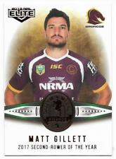 2018 NRL Elite Dally M Awards (DM 19) Matt GILLETT Broncos