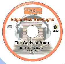 The Gods of Mars- Edgar Rice Burroughs MP3 Audio Book 22 episodes/chapters on CD