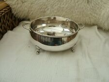 ANTIQUE  SILVER PLATED PUNCH BOWL OR FRUIT BOWL....