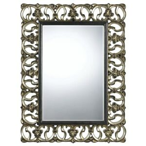 "Cal Lighting Ormond 48"" Poly Urethane Mirror, Bronze/Silver - WA-2167MIR"