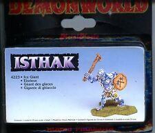 Demonworld Icelords of Isthak Ice Giant MINT 15mm Lead minis
