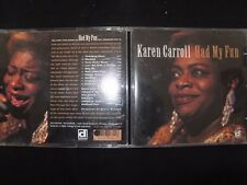 CD KAREN CARROLL / HAD MY FUN /