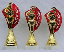 3er-Serie Pokale1.-3. Platz inkl. Gravuren und Embleme