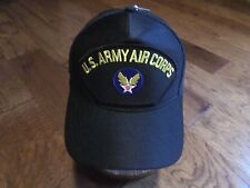 U.S ARMY AIR CORPS HAT U.S MILITARY OFFICIAL BASEBALL CAP U.S.A MADE
