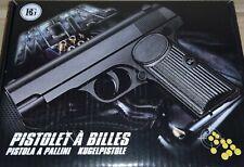 Solide Pistolet à Bille Élite en Métal de 16cm Puissant de 0,5 joule + 30 Billes
