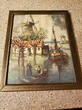 Vintage Picture & Frame Spring in Holland