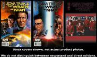 Star Trek: The Wrath of Khan 1/A 2/A 3/B Complete Set Run Lot 1/A-3/B VF/NM