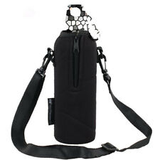 750ML Sports Water Bottle Bag Case Pouch Carrier Cover Adjustable Strap BuckleZB