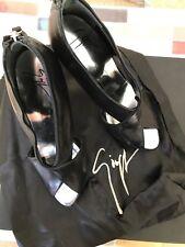 Giuseppe Zanotti High Heels Black Leather 36