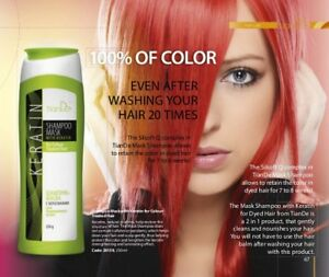 TianDe Shampoo mask with keratin for Colour-Treated Hair