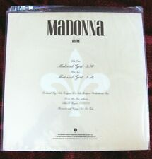 """Madonna EXTREMELY RARE SEALED & MINT Material Girl US PROMO Vinyl Record 12"""" LP"""