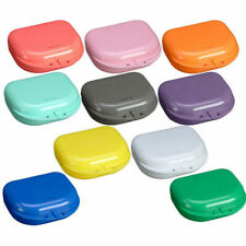 Dental Orthodontic Retainer Denture Storage Case Mouthguard Container Vogue X6H2
