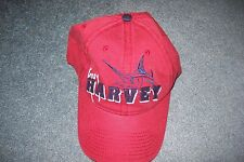 NWT Guy Harvey Red one size fits all Cotton hat with Marlin