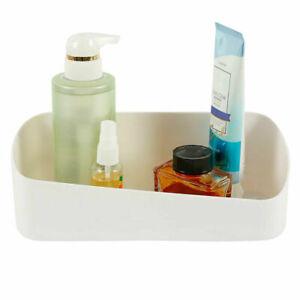 Adhesive NO-Drilling Shower Caddy Basket  Bathroom Shelf Storage Rack