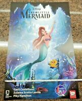 Disney Comics The Little Mermaid Poster SIGNED by Cecil Castellucci Dark Horse