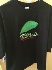 La Hoja De Coca No Es Droga. T-shirt Bolivia Peru Size XL Or 2XL