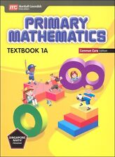 Primary Math Textbook 1A Common Core Edition SingaporeMath
